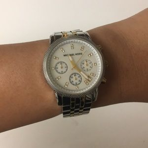 Michael Kors 2 Tone Women's Watch
